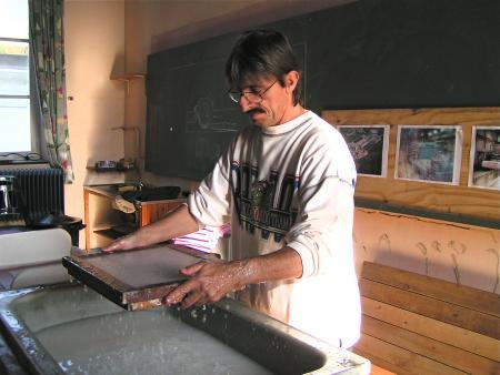 La fabrication du papier à l'ancienne