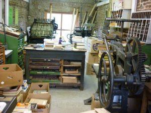 le musée de l'imprimerie à Redu
