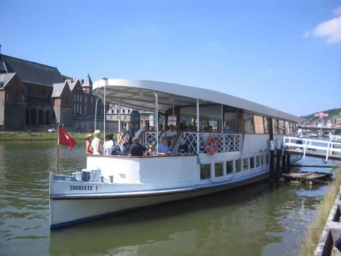 Excursion en bateau sur la Meuse