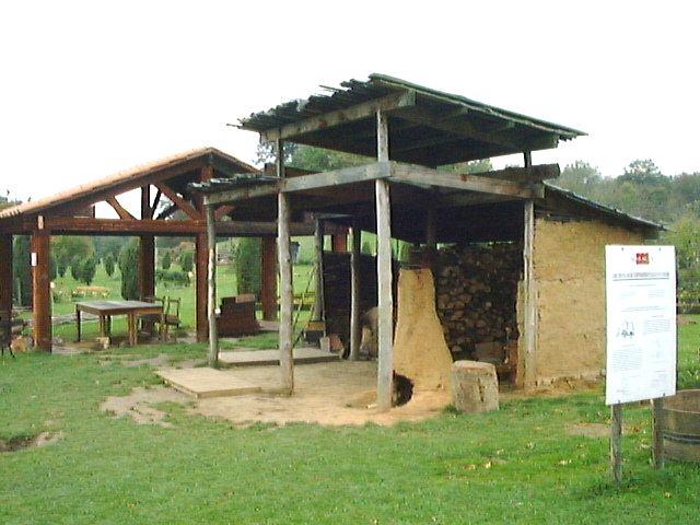 Le domaine Gallo Romain de Malagne à Rochefort