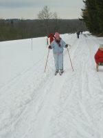 Ski de fond à Saint-Hubert