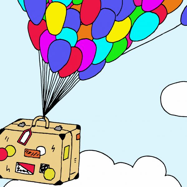 Dans la valise...